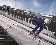 불가능이란 없다,  '인간새'의  화려한 비상 '스키점프'