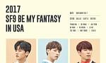 SF9, 亞 넘어 美 투어 확정...글로벌 팬미팅 개최