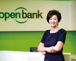 [LA에서 만난 사람] 민 김 오픈뱅크 행장, 미주 한인 은행가의 대모