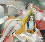 프랑스 대표 여성 작가 '마리 로랑생-색채의 황홀 展'