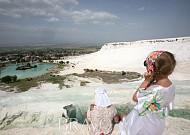 파묵칼레에서 고대 로마식 온천욕 즐기기