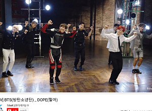 방탄소년단 '쩔어', 뮤직비디오 4억뷰 돌파...통산 3번째 기록