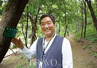 """곽종일 산림치유지도사  """"숲으로 떠나는 일터, 그 자체가 활력소"""""""