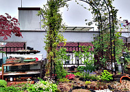 집안에 마음의 정원이 있다