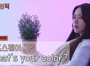 [비즈원픽] 레드스퀘어(REDSQUARE) 그린, 너의 색은 무엇이니…유튜브 '떰즈' 공개