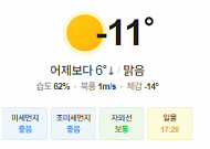 [오늘의 날씨] 중부지방 한파 특보, 장기간 한파 유의