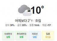 [오늘의 날씨] 북극 한파 지속…서해안 밤부터 눈