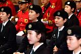 [포토] 이화여대 학군단 '군기 바짝'