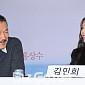 [BZ포토] 홍상수-김민희, 얼굴에 만연한 핑크빛 미소