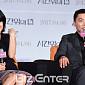 [BZ포토] 김윤진, 조재윤 극찬에 얼굴이 화끈화끈