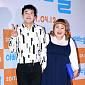 [BZ포토] 김민기-홍윤화, 영화관 나들이 나온 귀요...