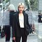 [BZ포토] 김새롬, 남자보다 더 멋진 수트 패션