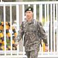 [BZ포토] '만기 전역' 유노윤호, 설레는 발걸음