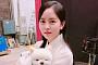 '섹션' 김소현, 단아한 한복 셀카 공개…강아지와 '심쿵' 조합