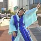 [BZ포토] 홍진경, 한강대교 위 춤신춤왕