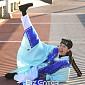 [BZ포토] 홍진경, 파격 대교 댄스
