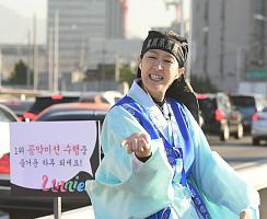 흥나는 춤사위…홍진경, 언니쓰 '맞지?' 음원 1위 공약 실행~