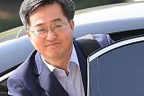 [포토] 출근하는 김동연 부총리 내정자