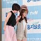 [BZ포토] 이봉원-박미선 딸, '부상 투혼' 깁스한 ...