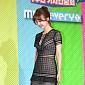 [BZ포토] 박소현, 과감한 시스루 드레스 자태