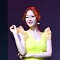 [BZ포토] 박보람, 레몬처럼 상큼한 원피스 자태