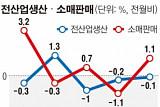 6월 제조업 생산 3개월 연속 하락...소비판매 1.1% 늘어