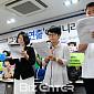 [BZ포토] 기자회견문 낭독하는 김기덕 사건 공동대...