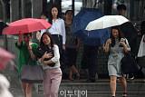[포토] 난 우산이 없네