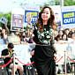[BZ포토] 김민서, '화려한 꽃자수 드레스'