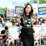 김민서, '화려한 꽃자수 드레스'