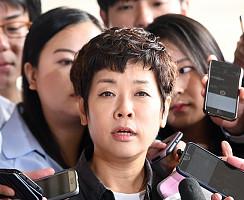 김미화, 'MB 블랙리스트' 관련 참고인으로 출석