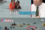 '동상이몽2' 우효광, 제주 바다서 수영 국가대표 출신 인증…추자현