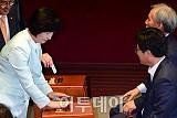 """추미애 """"김명수, 사법개혁 사명감 있게 추진해주길"""""""