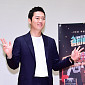 [BZ포토] 장혁, '수줍지만 양손 브이'