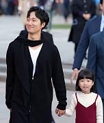 '남한산성' 박해일, '아인이와 함께 ...