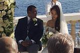 에어아시아 회장 결혼식 모습 보니…지중해가 보이는 럭셔리 호텔서