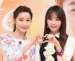 도지원-정유미, 예쁨을 쏙 빼닮은 모녀