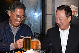 박용만 상의 회장-김주영 한국노총 위원장, 두번째 '호프미팅'서 노동현안 논의