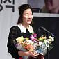 [BZ포토] 전혜진, '영평상' 여우조연상 수상