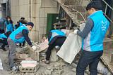 SPC그룹 임직원, 포항 지진 피해지역 찾아 봉사활동