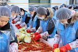 현대산업개발, 용산 주민과 함께하는 '사랑의 김장 나눔' 행사 성료