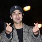 [BZ포토] 김지석, '시청자분들 사랑합니다'