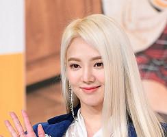 소녀시대 효연, 금발이 잘 어울리는 미모