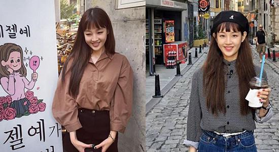 여친짤 무한 생성중인 '박보람'의 데일리 패션 모음