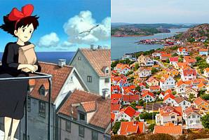 지브리 애니메이션의 배경이 된 실제 장소 7곳