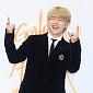 [BZ포토] 방탄소년단 뷔, '신난 흥부자'