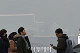 [포토] 이틀만에 다시 미세먼지 비상저감조치 발효