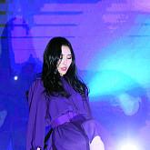 [BZ포토] 선미, 신비로운 보라빛