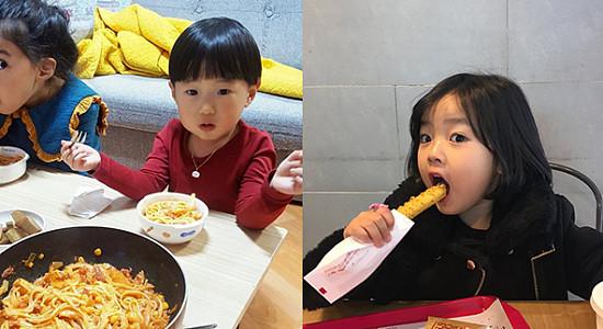 SNS를 핫하게 달군 매력팡팡 '랜선조카' 6인