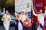 니뽕내뽕 대표인물들, 평창동계올림픽 성화봉송 릴레이 주자로 참여